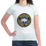 Wyoming Highway Patrol Jr. Ringer T-Shirt