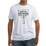 JoVE in the house Fitted T-Shirt