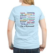 Gymnast front/back design T-Shirt