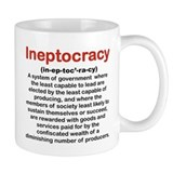 INEPTOCRACY mug.png Small Mugs