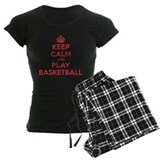 Keep Calm Play Basketball Pajamas