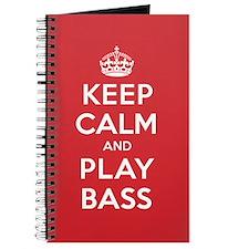 Keep Calm Play Bass Journal