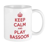 Keep Calm Play Bassoon Small Mug