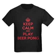 Keep Calm Play Beer Pong T
