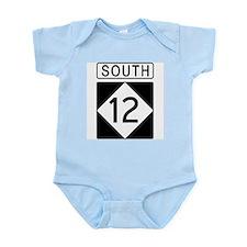Route 12 South Infant Bodysuit