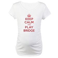 Keep Calm Play Bridge Shirt