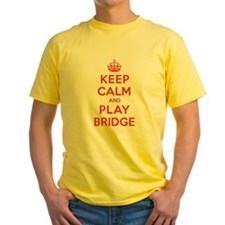 Keep Calm Play Bridge T