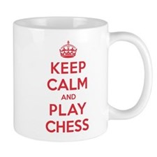 Keep Calm Play Chess Mug