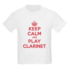 Keep Calm Play Clarinet T-Shirt