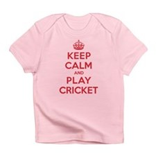 Keep Calm Play Cricket Infant T-Shirt
