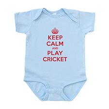 Keep Calm Play Cricket Onesie