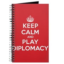 Keep Calm Play Diplomacy Journal