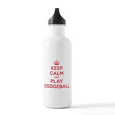 Keep Calm Play Dodgeball Water Bottle
