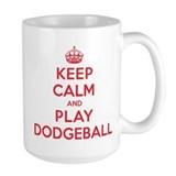 Keep Calm Play Dodgeball Mug