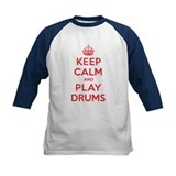 Keep Calm Play Drums Tee