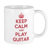 Keep Calm Play Guitar Small Mug