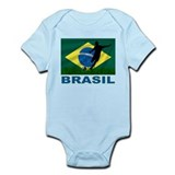 Brasil World Cup Soccer Infant Bodysuit