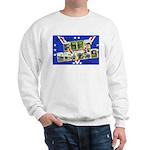 Fort Devens Massachusetts (Front) Sweatshirt