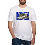 Fort Devens Massachusetts (Front) Fitted T-Shirt