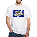 Fort Devens Massachusetts White T-Shirt