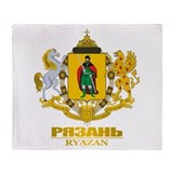 Ryazan COA Throw Blanket