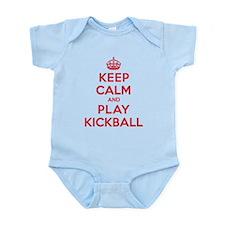 Keep Calm Play Kickball Infant Bodysuit