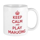 Keep Calm Play Mahjong Small Mug