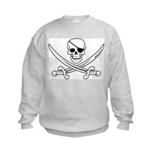 Eyepatch Skull & Crossed Swords Sweatshirt