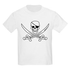 Eyepatch Skull & Crossed Swords T-Shirt