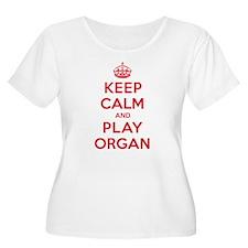 Keep Calm Play Organ T-Shirt