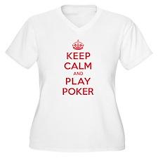 Keep Calm Play Poker T-Shirt