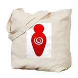 Red Goddess Tote Bag