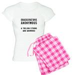Exaggerators Anonymous Black Women's Light Pajamas