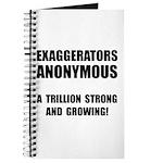 Exaggerators Anonymous Black Journal