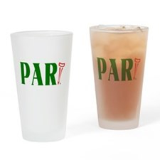 PAR-tee Golfer Drinking Glass