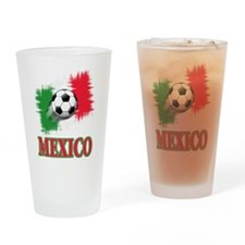 Mexico World Cup Soccer Drinking Glass