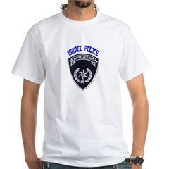 Israel Police White T-Shirt