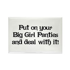 Big Girl Panties Rectangle Magnet