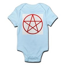 Red Pentacle Infant Creeper