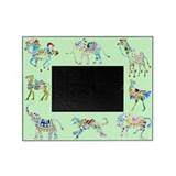 Circus Green Picture Frame