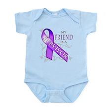 My Friend is a Survivor (purple).png Infant Bodysu
