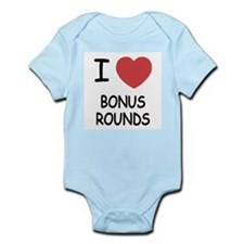 I heart Bonus Rounds Infant Bodysuit