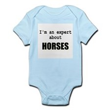 Im an expert about HORSES Infant Bodysuit