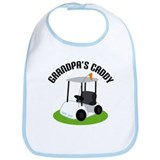 Grandpa's Caddy Bib