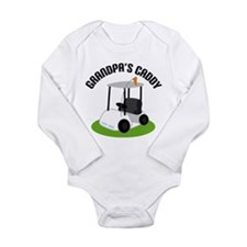 Grandpa's Caddy Long Sleeve Infant Bodysuit