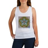 Star-Flower Mandala - Tank Top