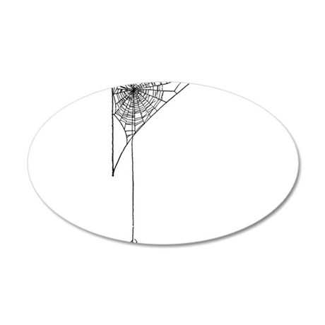spider 20x12 Oval Wall Decal