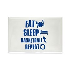 Eat Sleep Basketball Rectangle Magnet (10 pack)