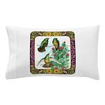 Buff Bellied Hummingbirds Pillow Case
