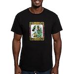 Buff Bellied Hummingbirds Men's Fitted T-Shirt (da